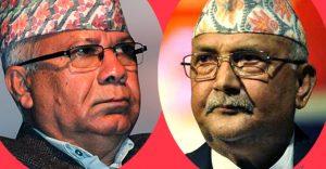 एमालेको माधव नेपाल समूहले अध्यक्ष केपी शर्मा ओली पक्षले सोधेको स्पष्टीकरणको जवाफ नदिने