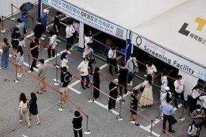 दक्षिण कोरियामा १ हजार भन्दा बढी संक्रमित थपिए
