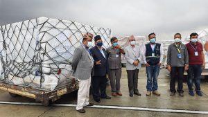 चीनबाट कोरोना भाइरसविरुद्धको ४४ लाख डोज भेरोसेल खोप नेपाल आईपुग्यो