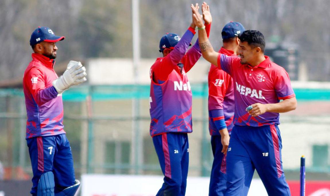 नेपाली राष्ट्रिय क्रिकेट टोली ओमानबाट आज स्वदेश फर्किए