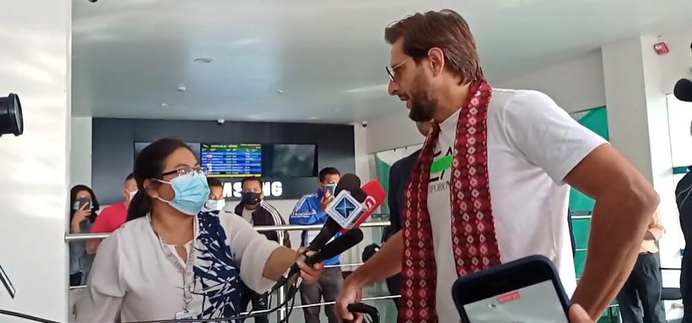 ईपीएल खेल्नका लागि पाकिस्तानी राष्ट्रिय क्रिकेट टोलीका पूर्व कप्तान शाहिद अफ्रिदी नेपालमा